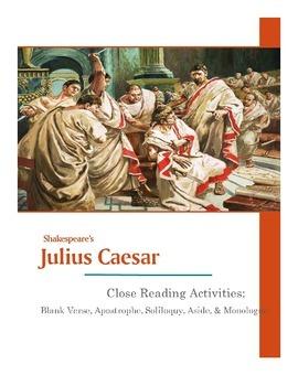 Shakespeare's Julius Caesar Close Reading Pack