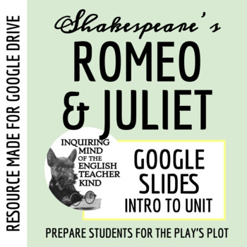 Romeo & Juliet Introductory PowerPoint