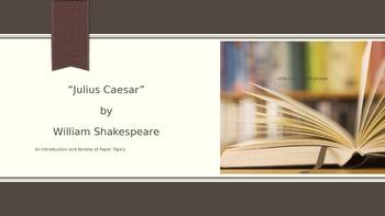 """Shakespear's """"Julius Caesar"""""""