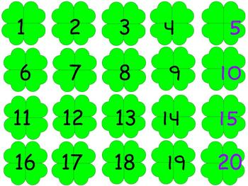 St. Patrick's Day 100's chart