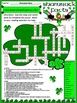 St. Patrick's Day Reading Activities: Shamrock Facts Activ