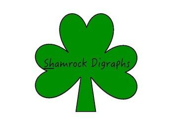 "Shamrock Digraphs - practicing the ""sh"" sound"