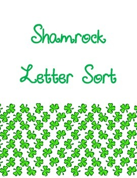Shamrock Letter Matching