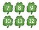 Shamrock Number Cards/Calendar Numbers
