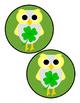 Shamrock Owl Signs Follow Me Freebie