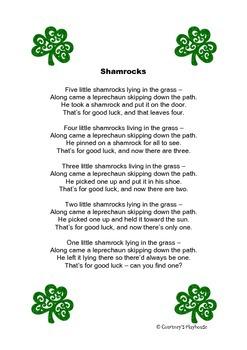 Shamrock Poem