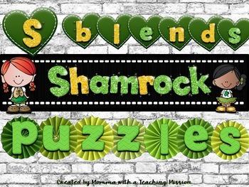 Shamrock S Blend Word Work