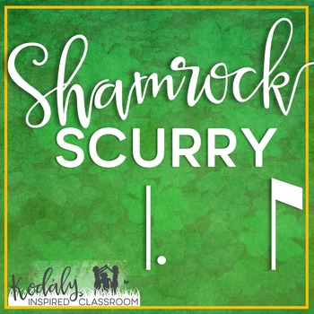 Shamrock Scurry Rhythm Races: dotted quarter eighth