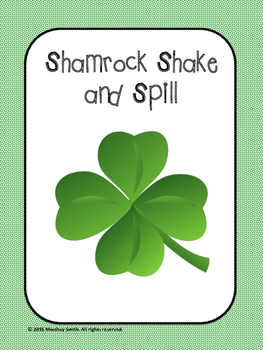 Shamrock Shake and Spill