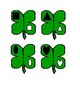 Shamrock Shape Puzzles for Preschool and Special education