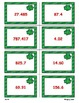 Shamrock Shenanigans Game Cards (Add & Subtract Decimals)