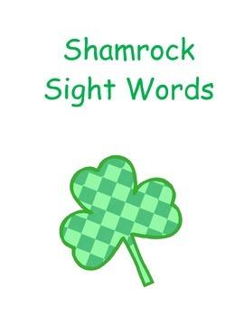 Shamrock Sight Words
