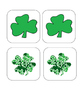 Shamrock - St. Patrick's Day - Matching and Memory Game -