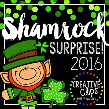 Shamrock Surprise 2016 {Creative Clips Digital Clipart}