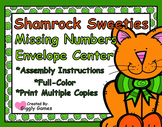 Shamrock Sweeties Missing Number Envelope Center