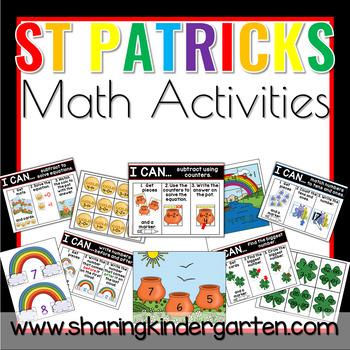 Shamrockin Math Activities