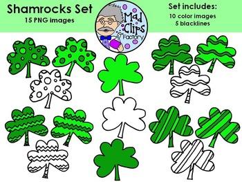 Shamrocks Set