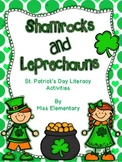 Shamrocks and Leprechauns - St. Patrick's Day Literacy Cen
