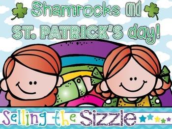 Shamrocks and St. Patrick's Day!