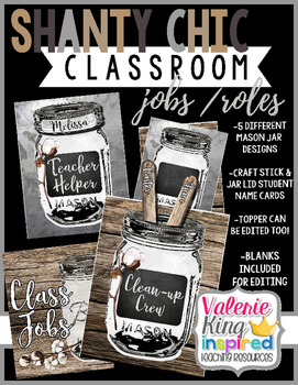 Shanty Chic Collection: Classroom Jobs / Roles