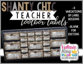 Shanty Chic Collection: Teacher Toolbox