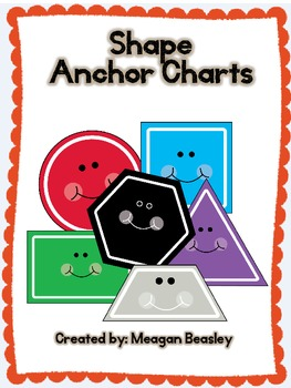 Shape Anchor Charts PLUS worksheets!