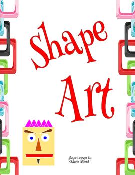 Shape Art - math lesson