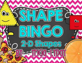 Shape BINGO 2D & real-life objects