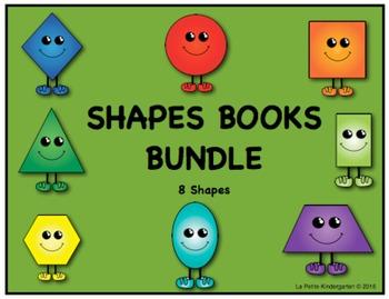 Shape Book:  BUNDLE of 8 Shape Books!