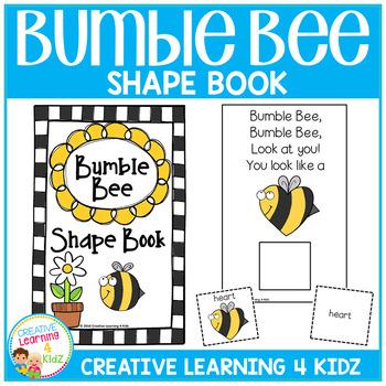 Shape Book Bumble Bee