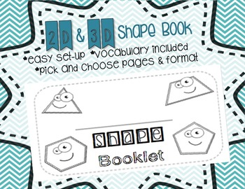 Shape Booklet 2D & 3D
