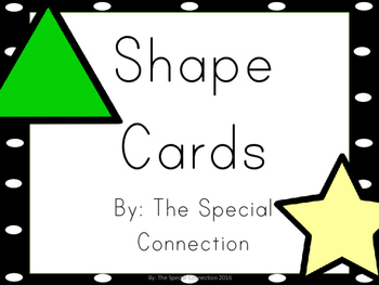 Shape Cards: Basic Edition