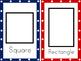 Shape Cards: Blackline Edition