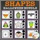 Shape Clip Card Bundle: Halloween
