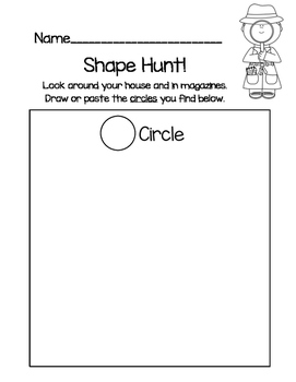 Shape Detectives (2D Shape Hunt)
