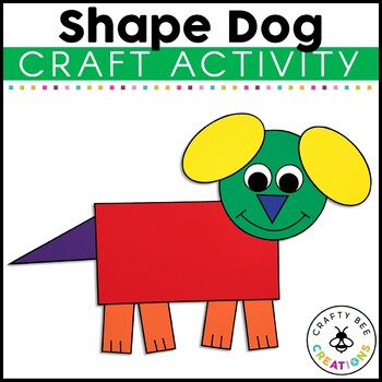 Shape Dog Cut and Paste