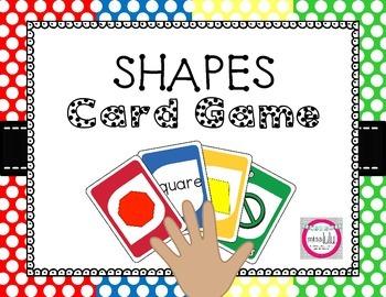 Shape Identification Card Game