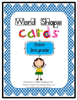Shape-It-Up!   Dolch 3rd Grade
