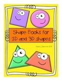 Shape Mini Books (2 and 3 dimensional)