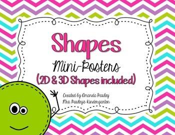 Shape Mini-Posters