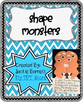 Shape Monster CCSS Aligned