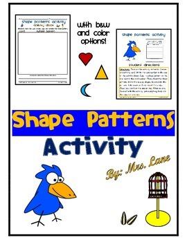 Shape Patterns Activity