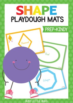 Shape Playdough Mats - Foundation Font