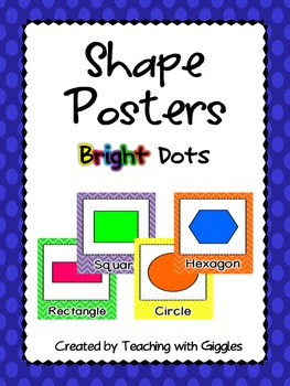 Shape Posters Bright Dots