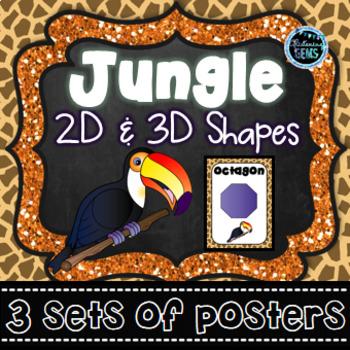 Shape Posters - Jungle Theme