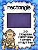 Shape Posters Monkey Theme