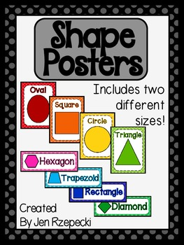 Shape Posters-Tone on Tone Polka Dots