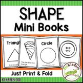Shape Print & Fold Mini Books