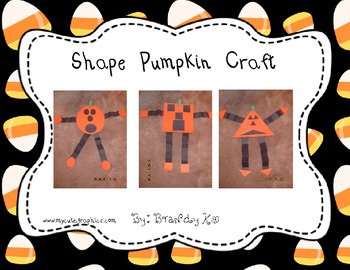 Shape Pumpkin Craftivity