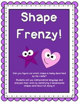 Shape Riddle Frenzy